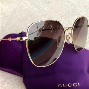 🔥🔥🔥GUCCI 59mm round  sunglasses